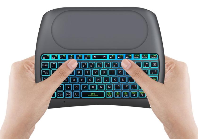 iMice D8 Plus: беспроводная мини-клавиатура за $13