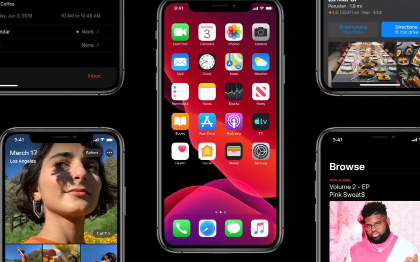 Коли вийде iOS 13, iPadOS, watchOS 6 та macOS Catalina