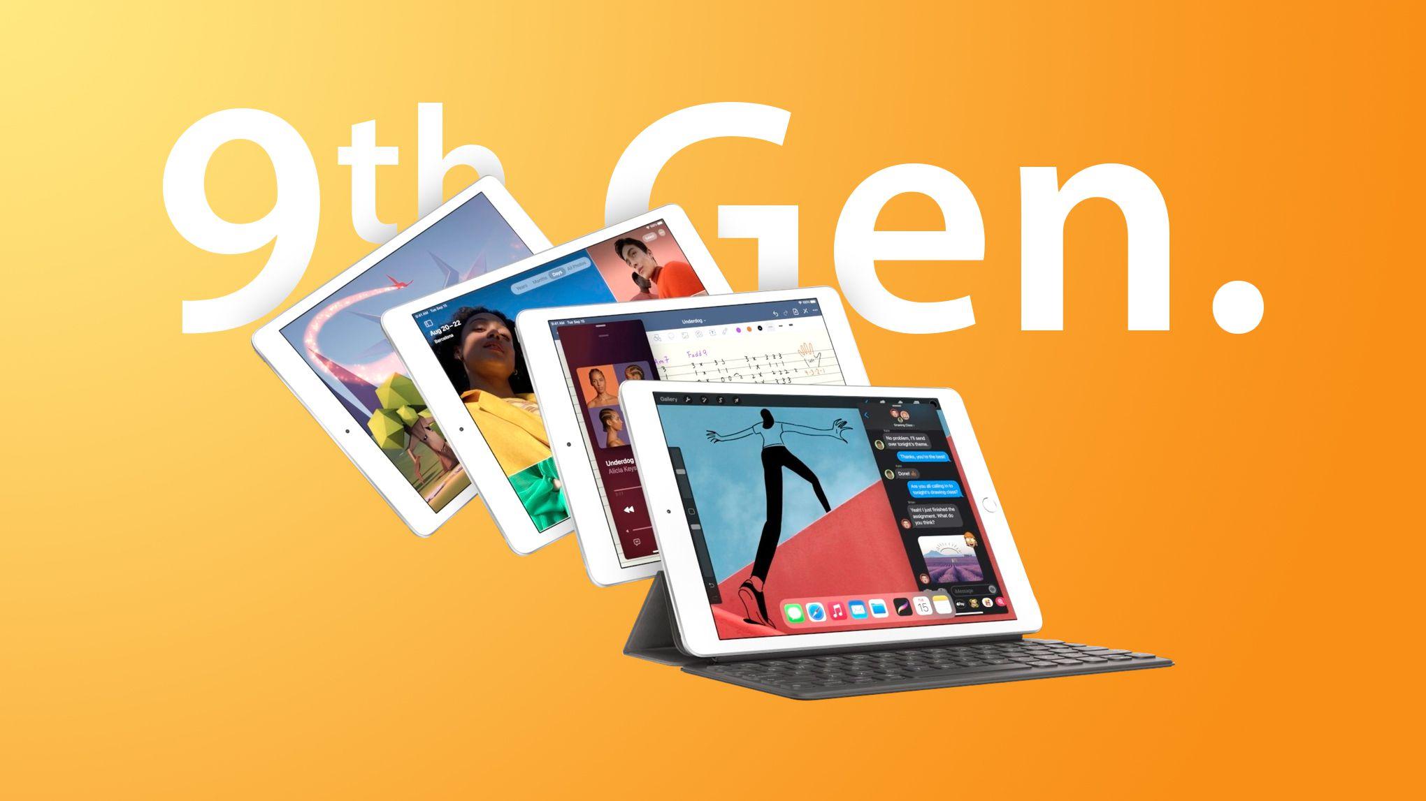 Слух: Apple может представить сегодня доступный планшет iPad 9