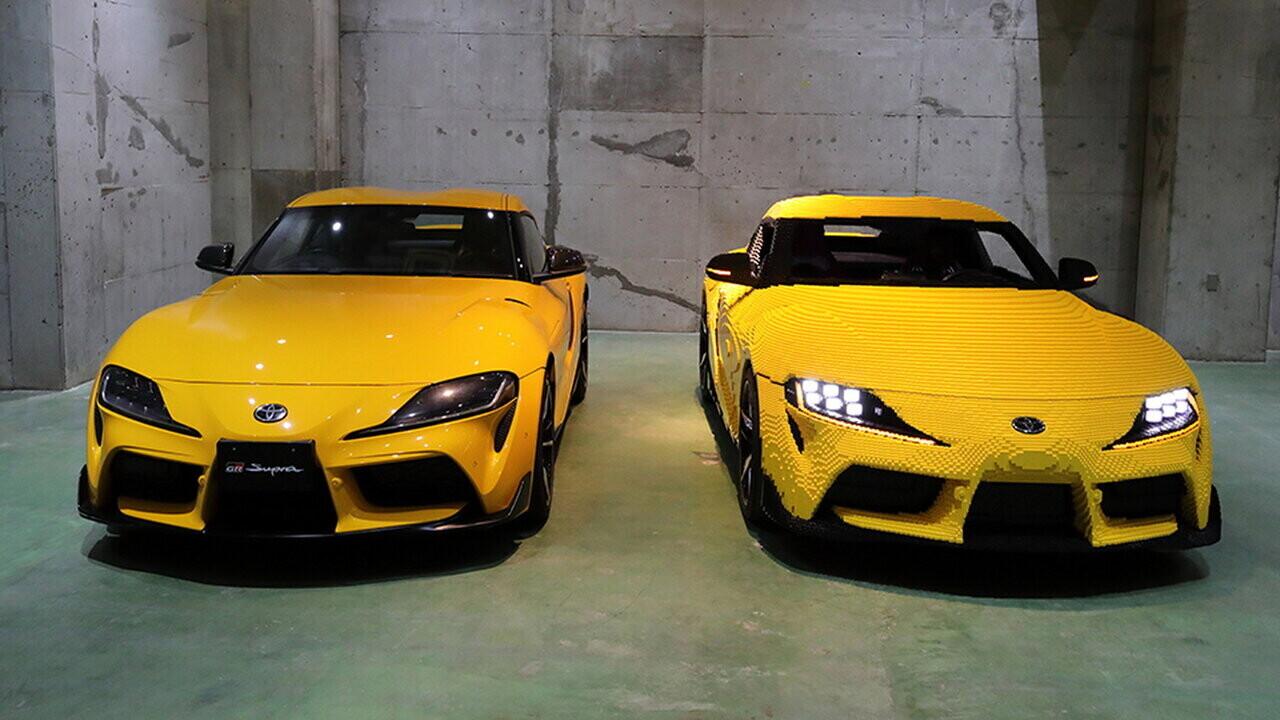 LEGO представила действующую модель легендарного автомобиля Toyota Supra в натуральную величину