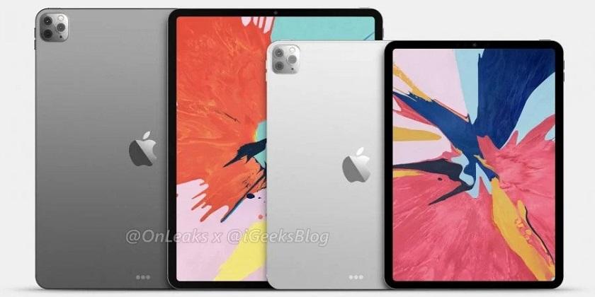 Опубликованы рендеры Apple iPad Pro 2020