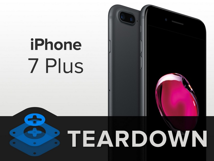 iPhone 7 Plus под скальпелем iFixit: кто забрал место у 3.5-мм разъема