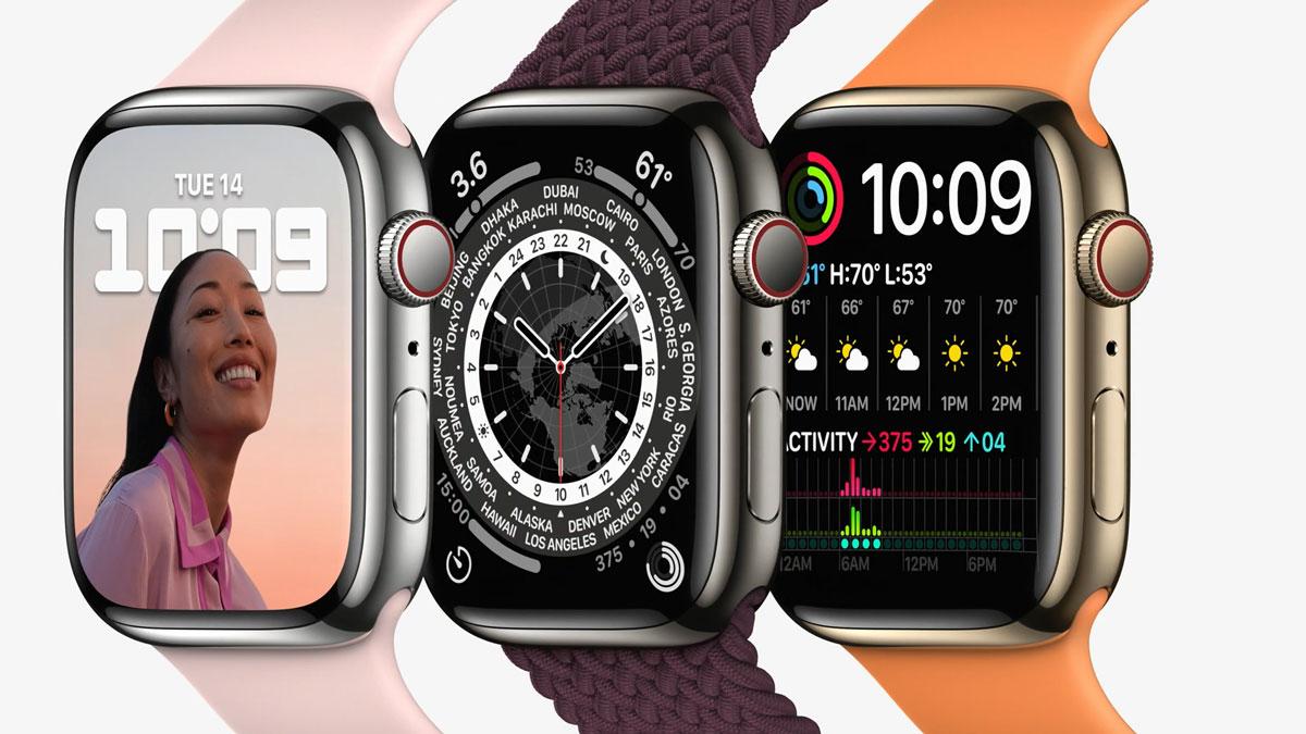 От $399 до $849  стали известны цены 14 модификаций Apple Watch Series 7