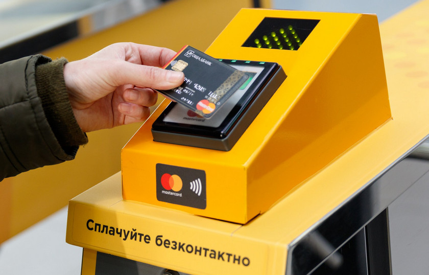 Attached, went: 25 million contactless payments in the Kiev metro