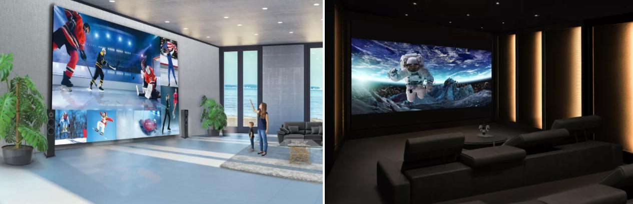LG представила телевизор DVLED TV с 325 экраном за $1 700 000