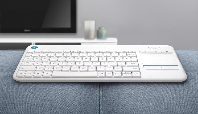 985ec2b33df Logitech K400 Plus: wireless keyboard with a touchpad | gagadget.com
