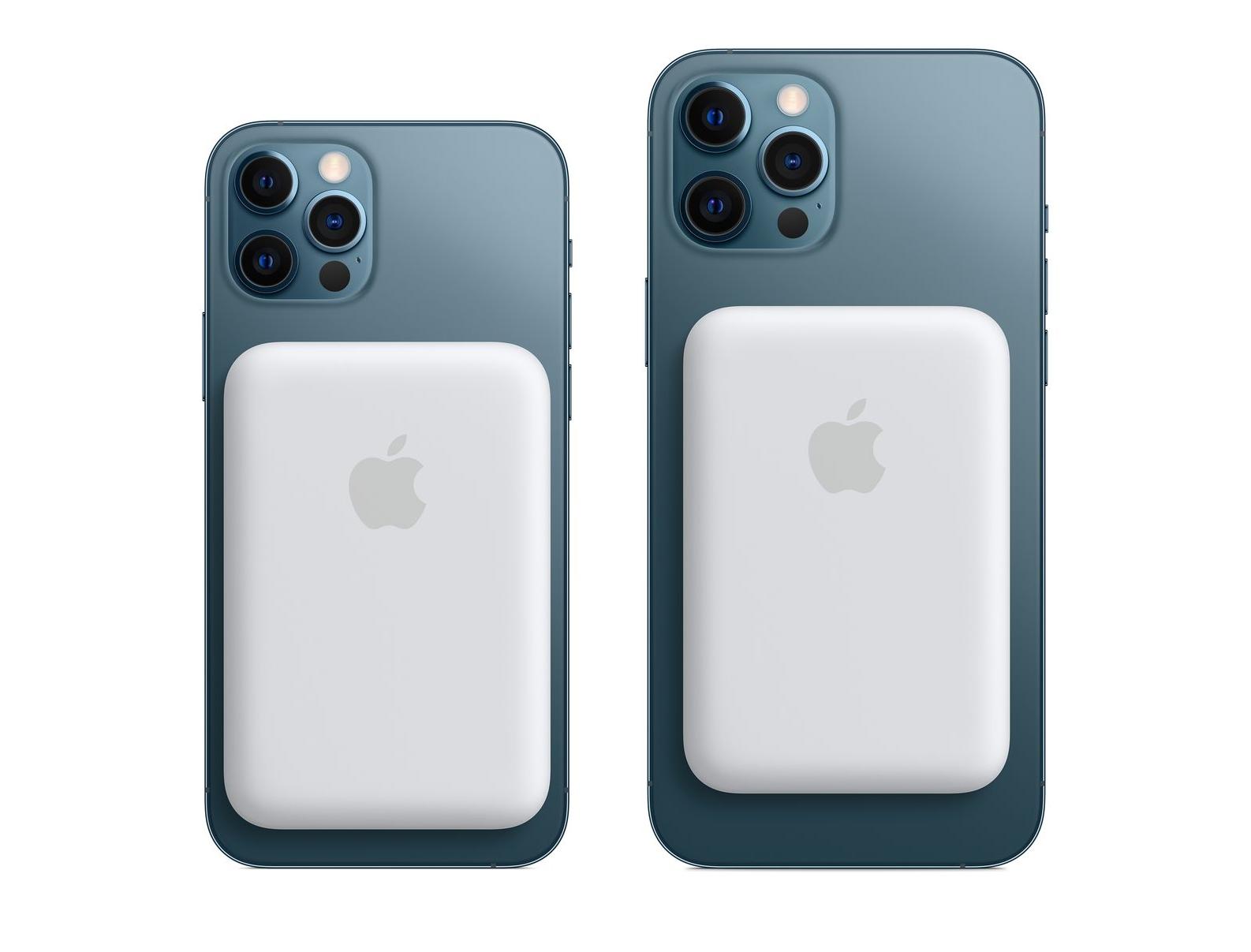 Apple представила пауэрбанк с поддержкой MagSafe для iPhone 12 за $99