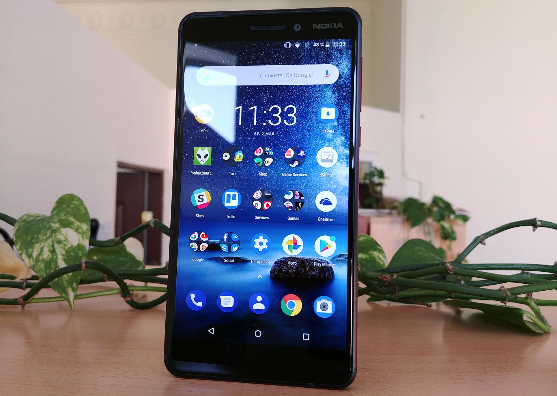Review of Nokia 6 1 2018 stylish and inexpensive