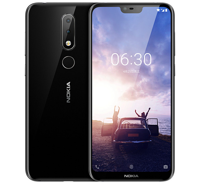 Announce Nokia X6: almost frameless smartphone with a dual camera