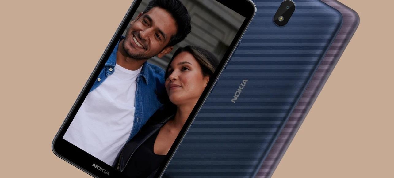Nokia C01 Plus: компактный бюджетник с 5,45 дисплеем и Android 11 Go всего за $90