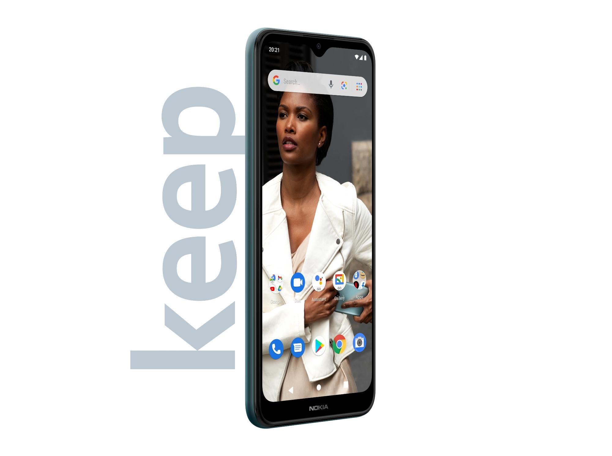 Nokia C30: ультрабюджетный смартфон с двойной камерой, батареей на 6000 мАч и Android 11 Go Edition на борту