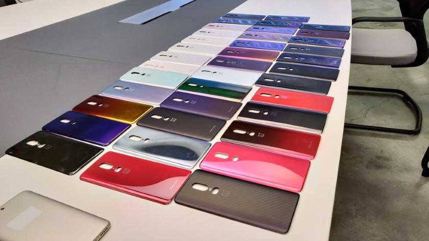 В сети появился видеоролик с прототипами OnePlus 6