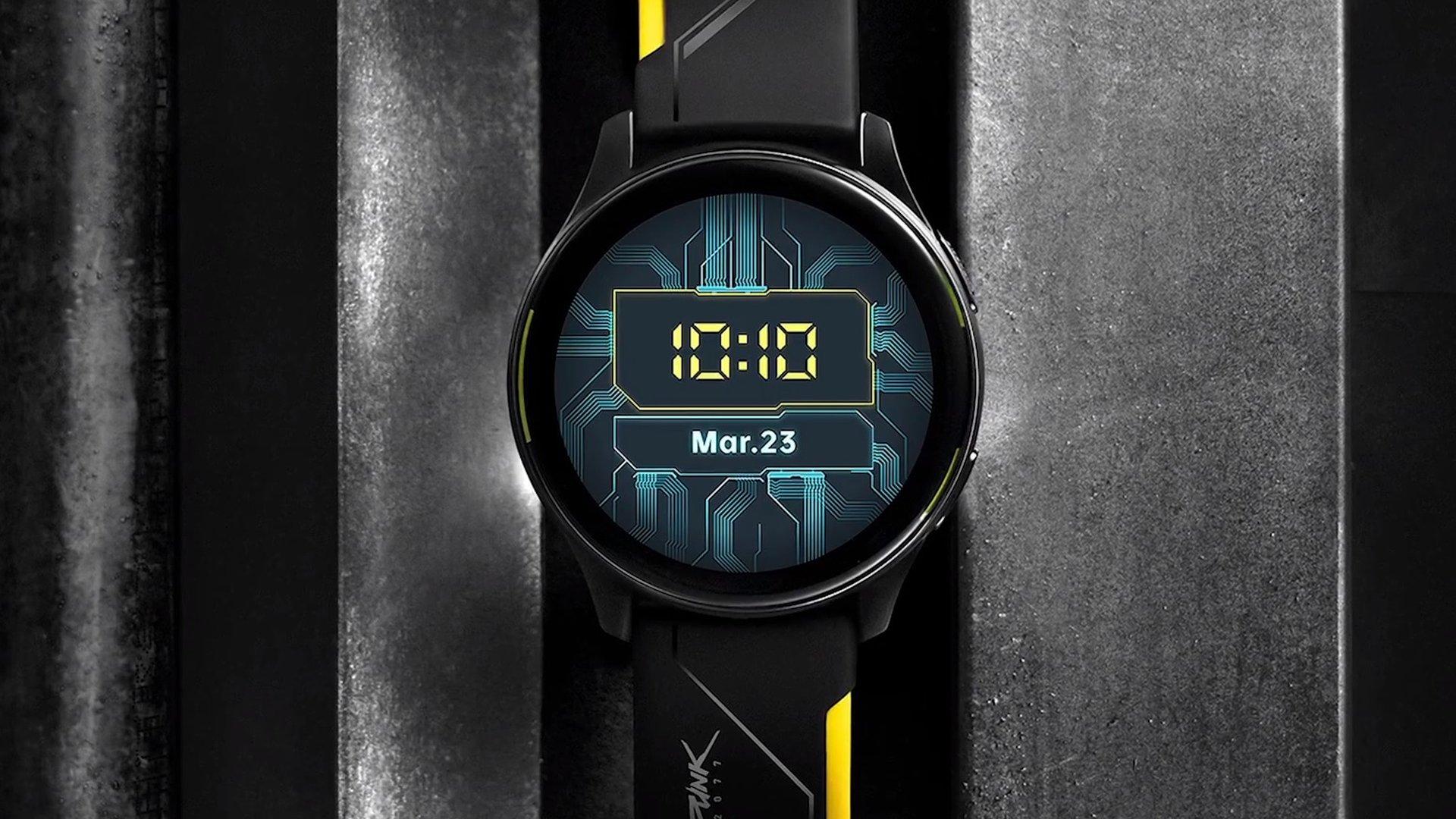 Вслед за OnePlus 8T Cyberpunk 2077 Limited Edition: OnePlus анонсировала смарт-часы в стиле Cyberpunk 2077