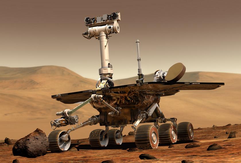 Учёные NASA потеряли связь с марсоходом Opportunity из-за песчаной бури