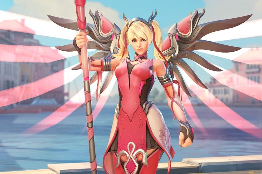 Игроки Overwatch собрали более 12 миллионов долларов на борьбу с раком груди