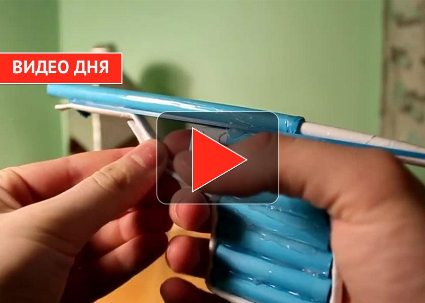 Как сделать пистолет из бумаги видео легко фото 147