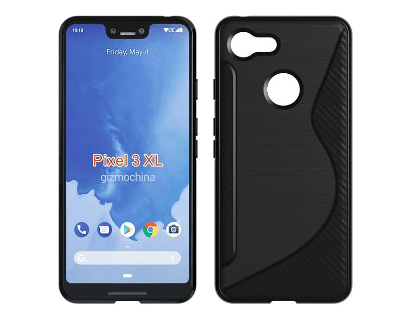 Google Pixel 3 XL показался на новых рендерах в чехле