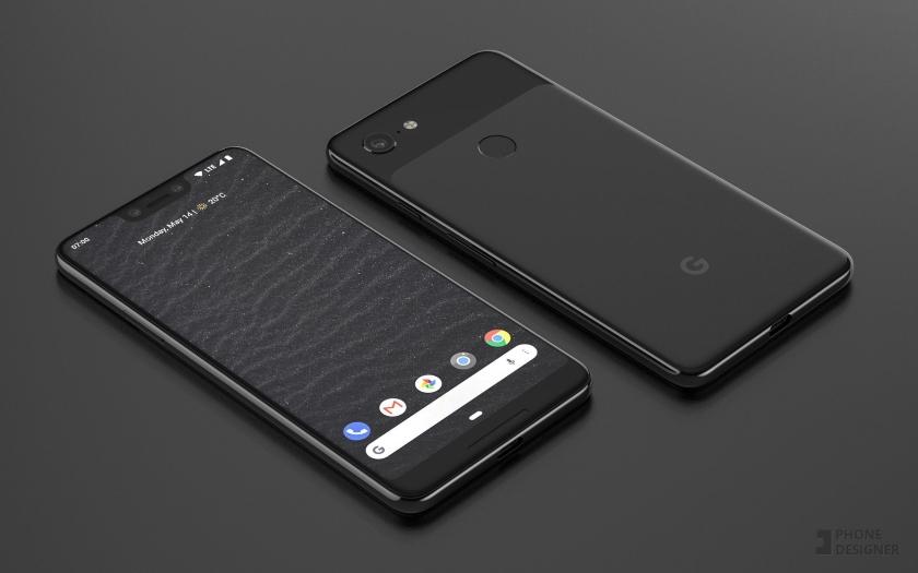 В сети появились фотографии прототипа Google Pixel 3 XL