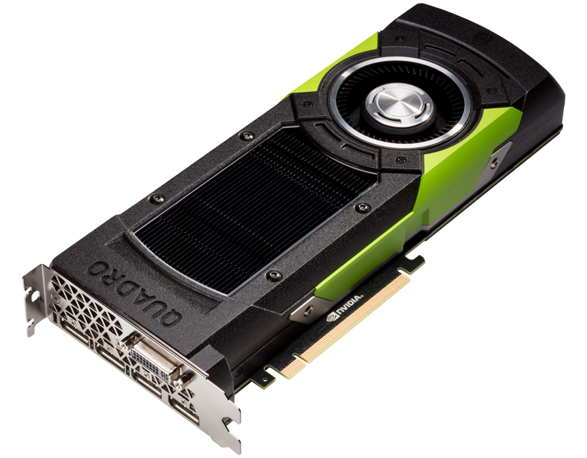 Nvidia Quadro M6000 Features 24 Gb of GDDR5 RAM