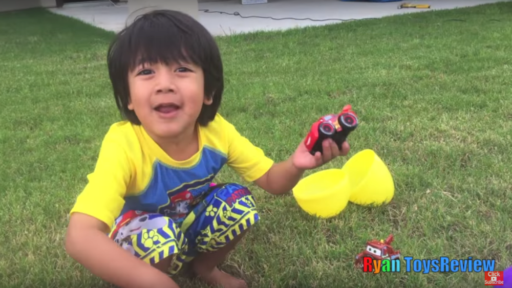 Toys For Boys Six Year : A six year old blogger earned $ 11 million by shooting toy reviews