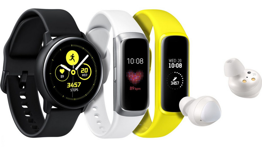 Что умеют смарт-часы Samsung Galaxy Watch Active и фитнес-браслеты Galaxy Fit/Fit e