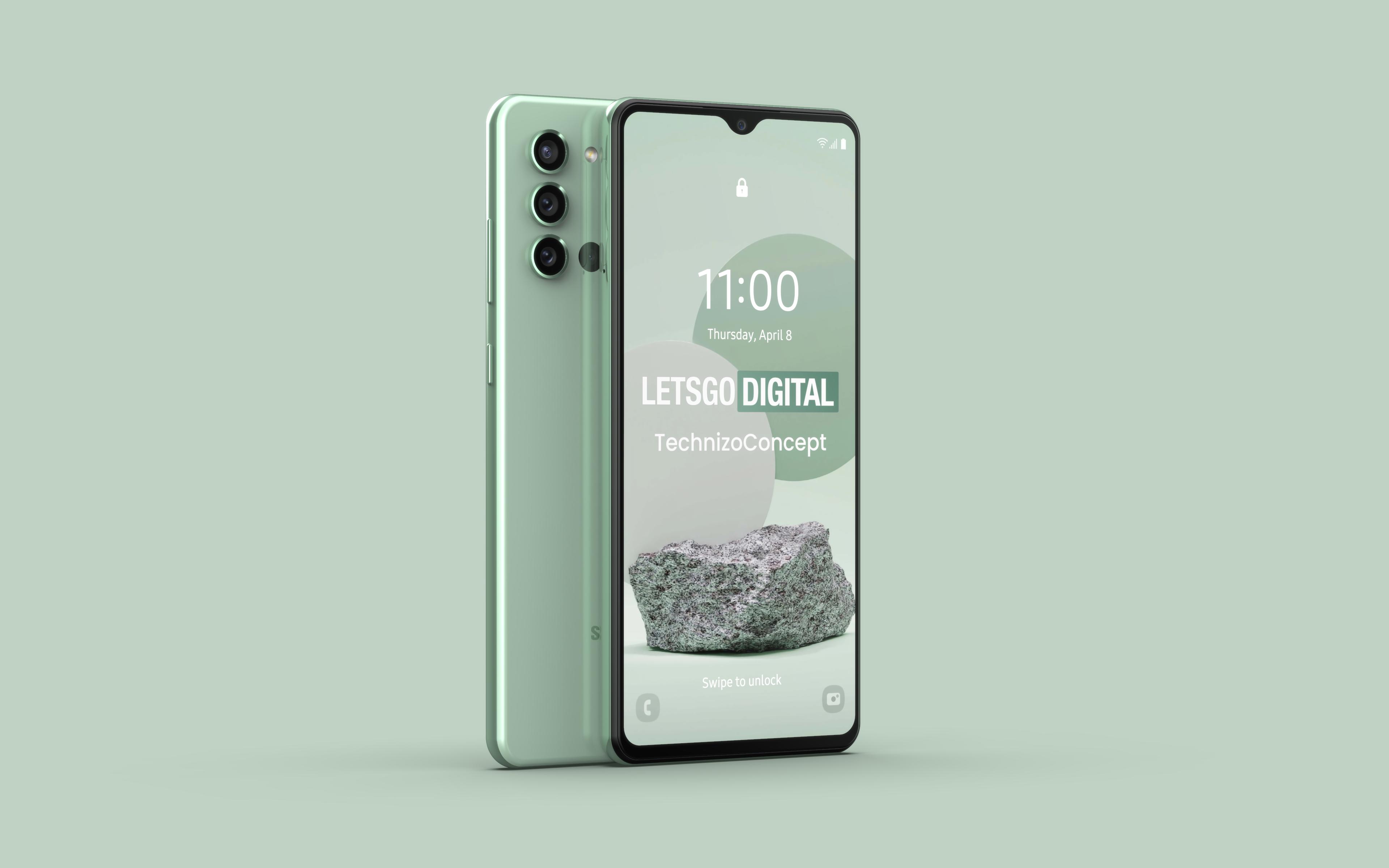 Так будет выглядеть Galaxy A22 5G: самый дешёвый 5G-смартфон Samsung с чипом MediaTek Dimensity 700