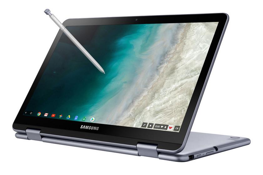 Самсунг представила Chromebook Plus V2 спроцессором Intel и 2-мя камерами