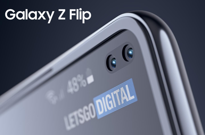 Samsung придумала смартфон Galaxy Z Flip, экран которого складывается в двух направлениях