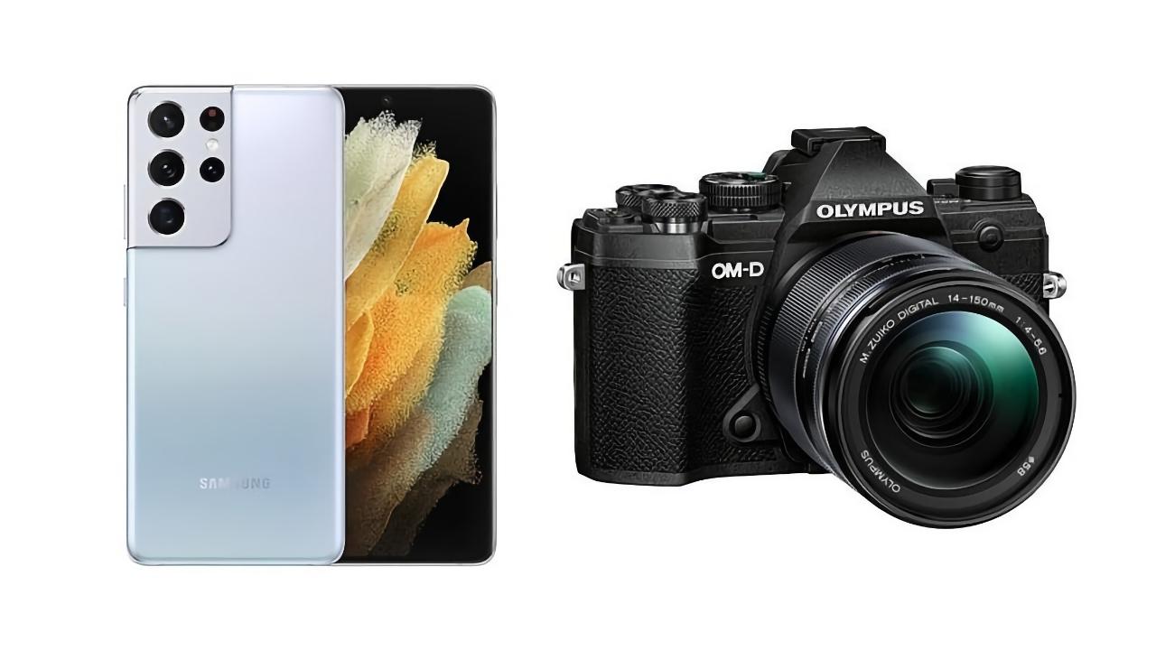 Слух: Samsung вместе с Olympus будет делать камеры для своих флагманских смартфонов