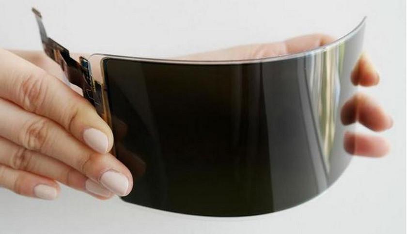 Samsung создала небьющийся OLED-дисплей для смартфонов