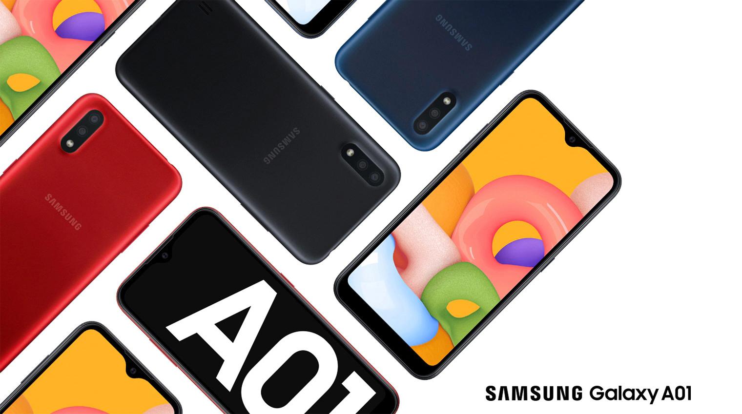 Бюджетный смартфон Samsung Galaxy A01 начал получать Android 11