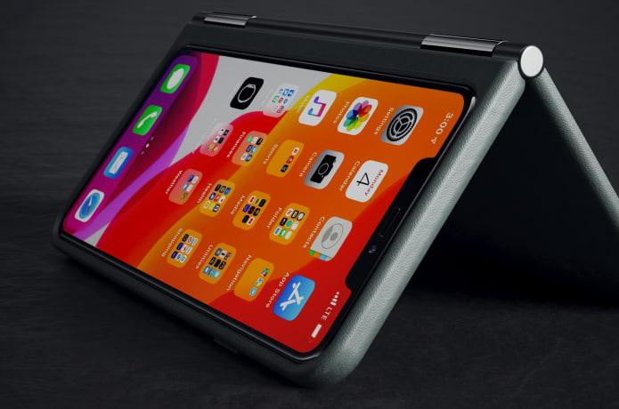 Чехол для смартфона с собственным экраном castAway