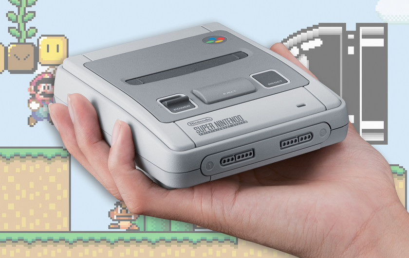 Do not forget: Nintendo sold 4 million consoles SNES Classic Mini