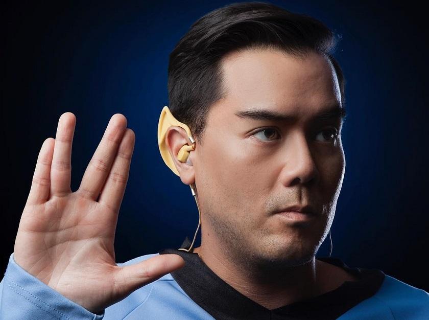 Bluetooth-наушники Star Trek Wireless Vulcan Earbuds сделают из человека вулканца