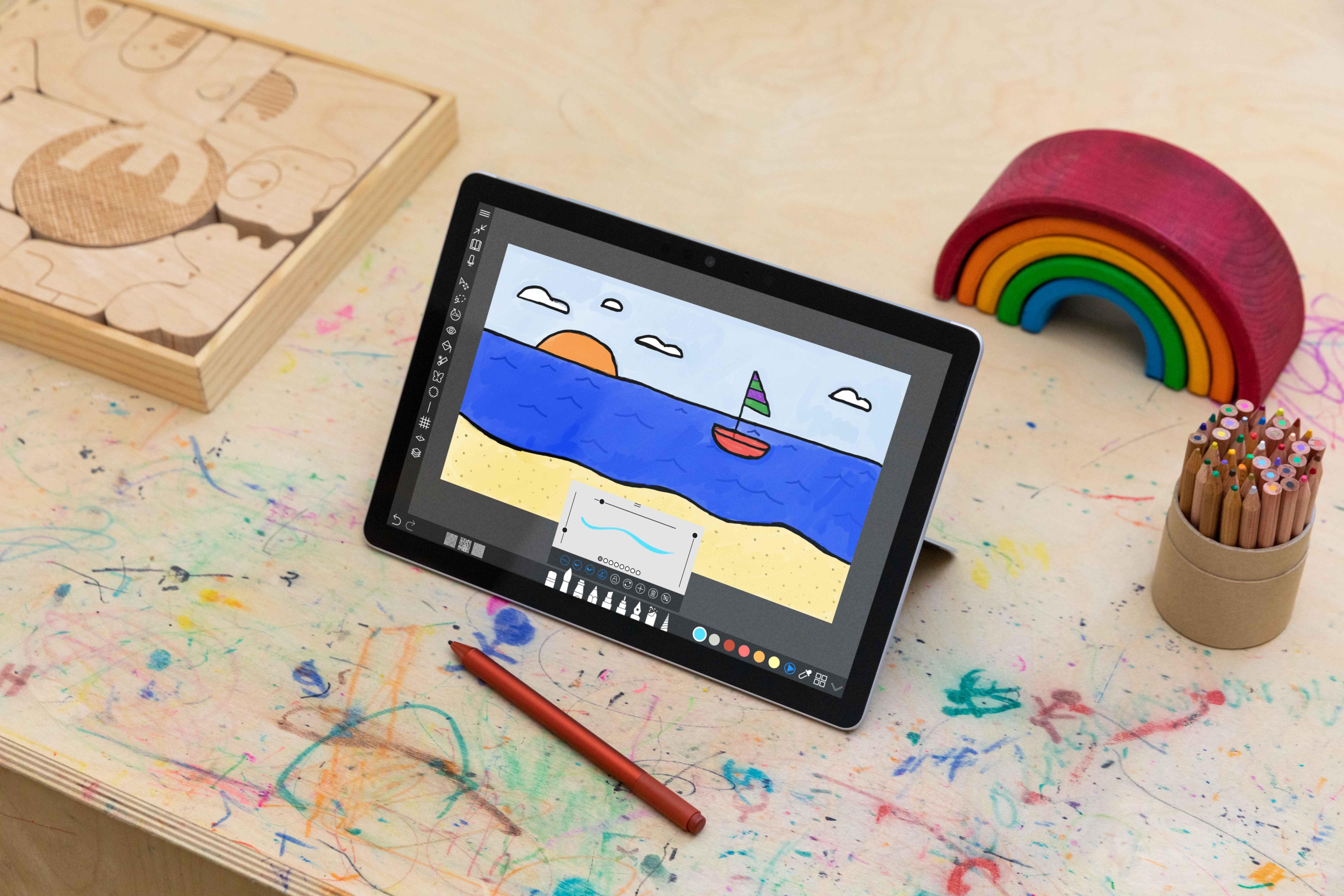 Microsoft Surface Go 3  ноутбук на Windows 11 за $400