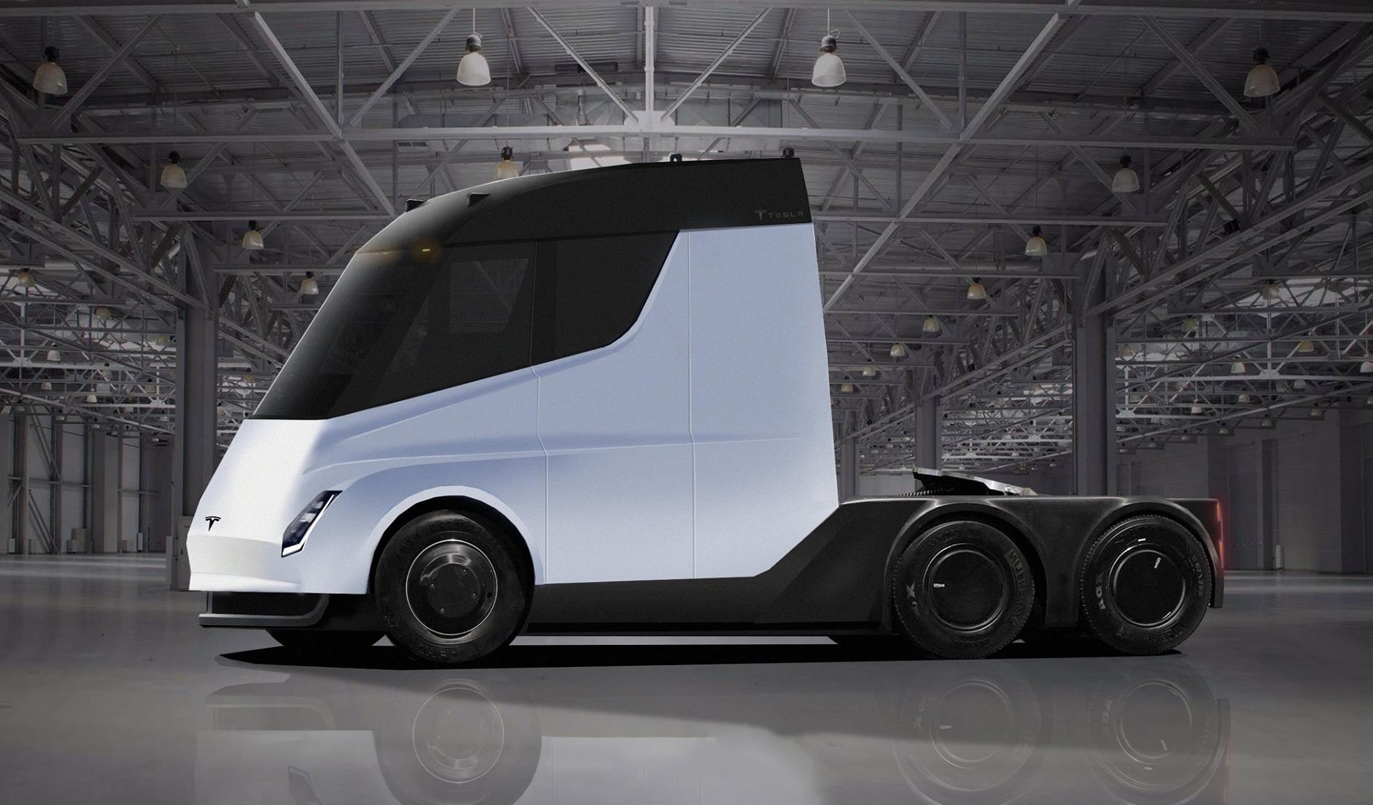 Tesla уже начинает массовое производство электрического тягача Semi (на самом деле нет)