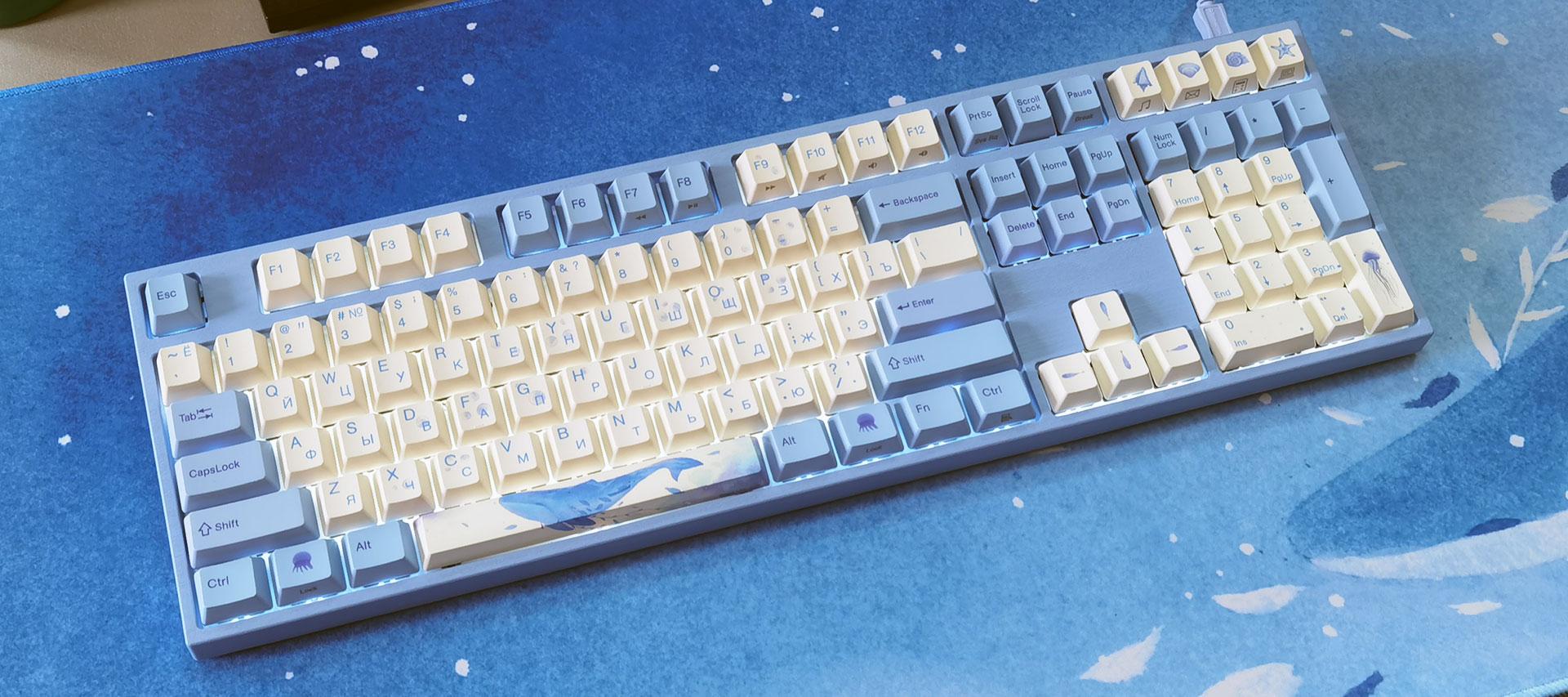Обзор Varmilo VA108M Sea Melody: механическая клавиатура класса Hi-End