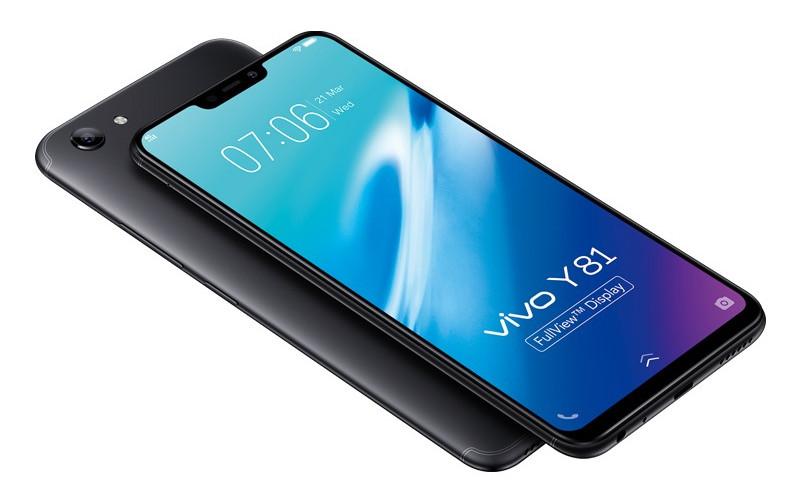 Анонс Vivo Y81: большой смартфон с «чёлкой» и простыми характеристиками