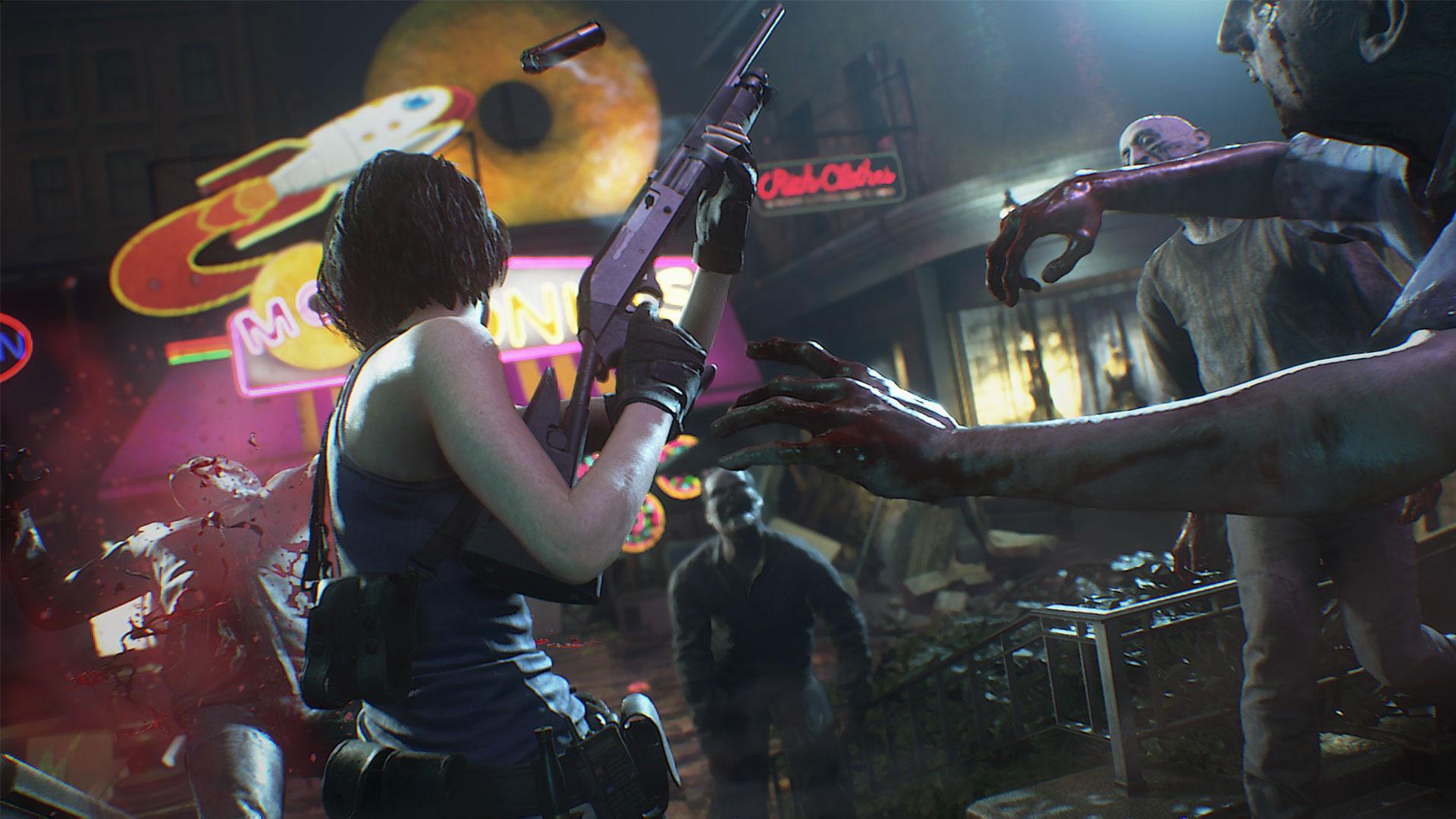 Релизный трейлер ремейка Resident Evil 3