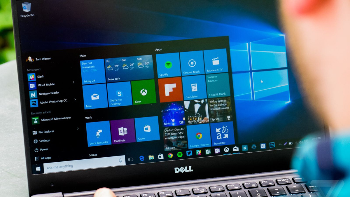 In Windows 10, an advanced analog Handoff and tabs for