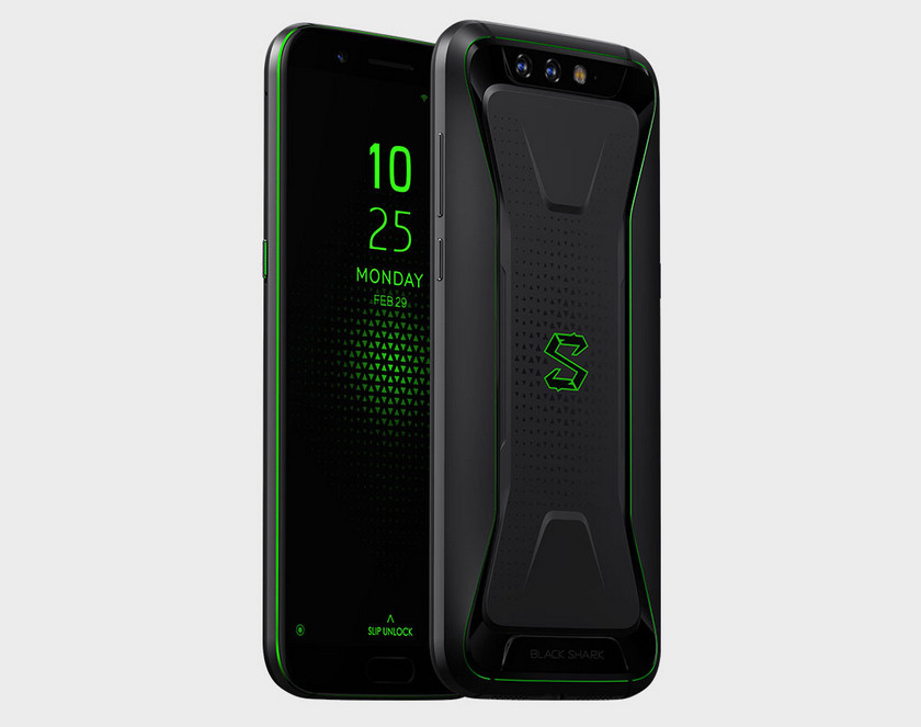 A game smartphone Xiaomi Black Shark with water cooling is offered and priced from $ 480