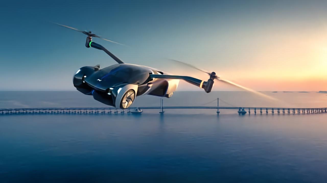 Китайская компания Xpeng планирует выпуск летающего электромобиля уже в 2024 году
