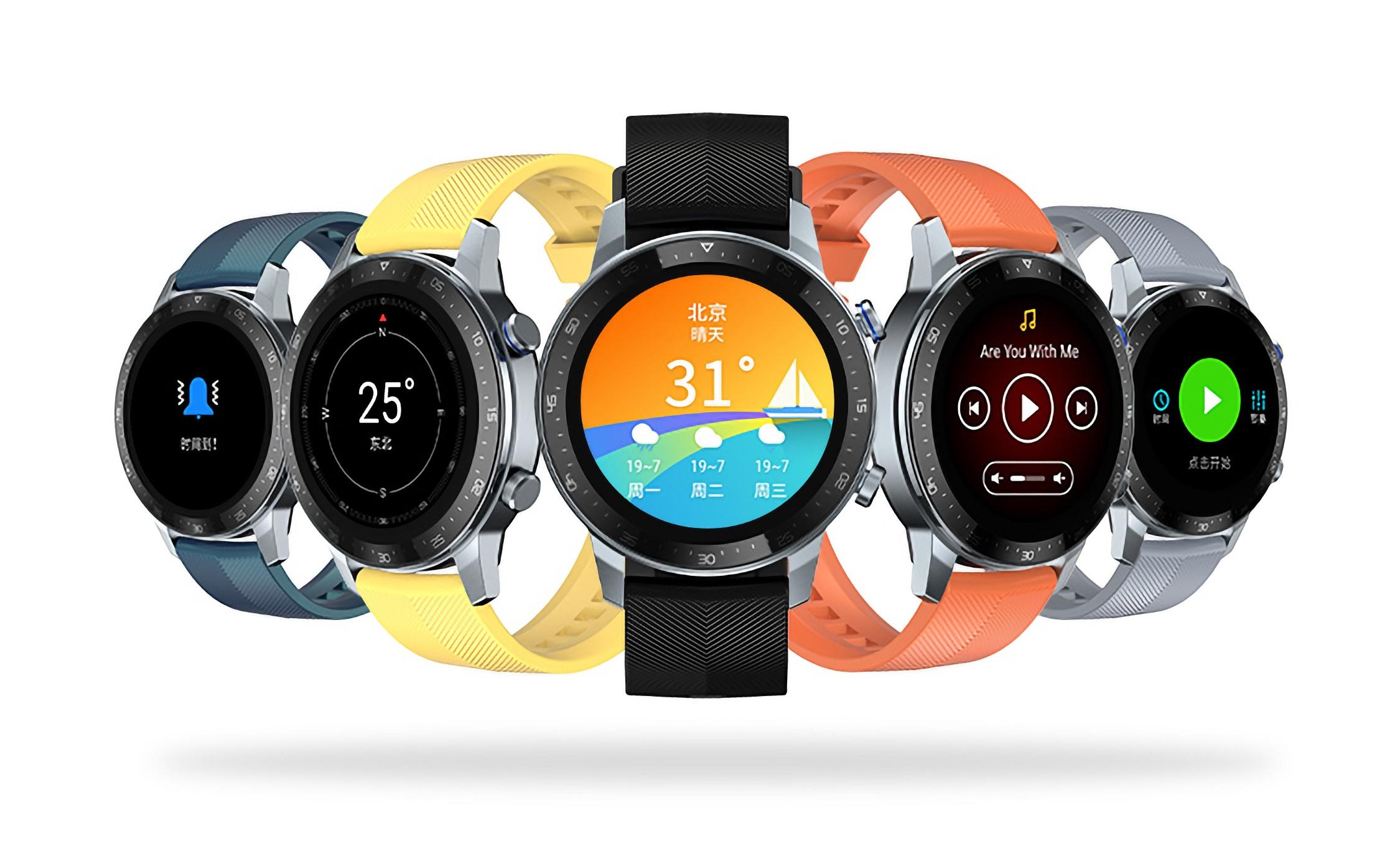 ZTE Watch GT: смарт-часы с AMOLED-экраном, GPS, датчиком SpO2 и автономностью до 23 дней за $91