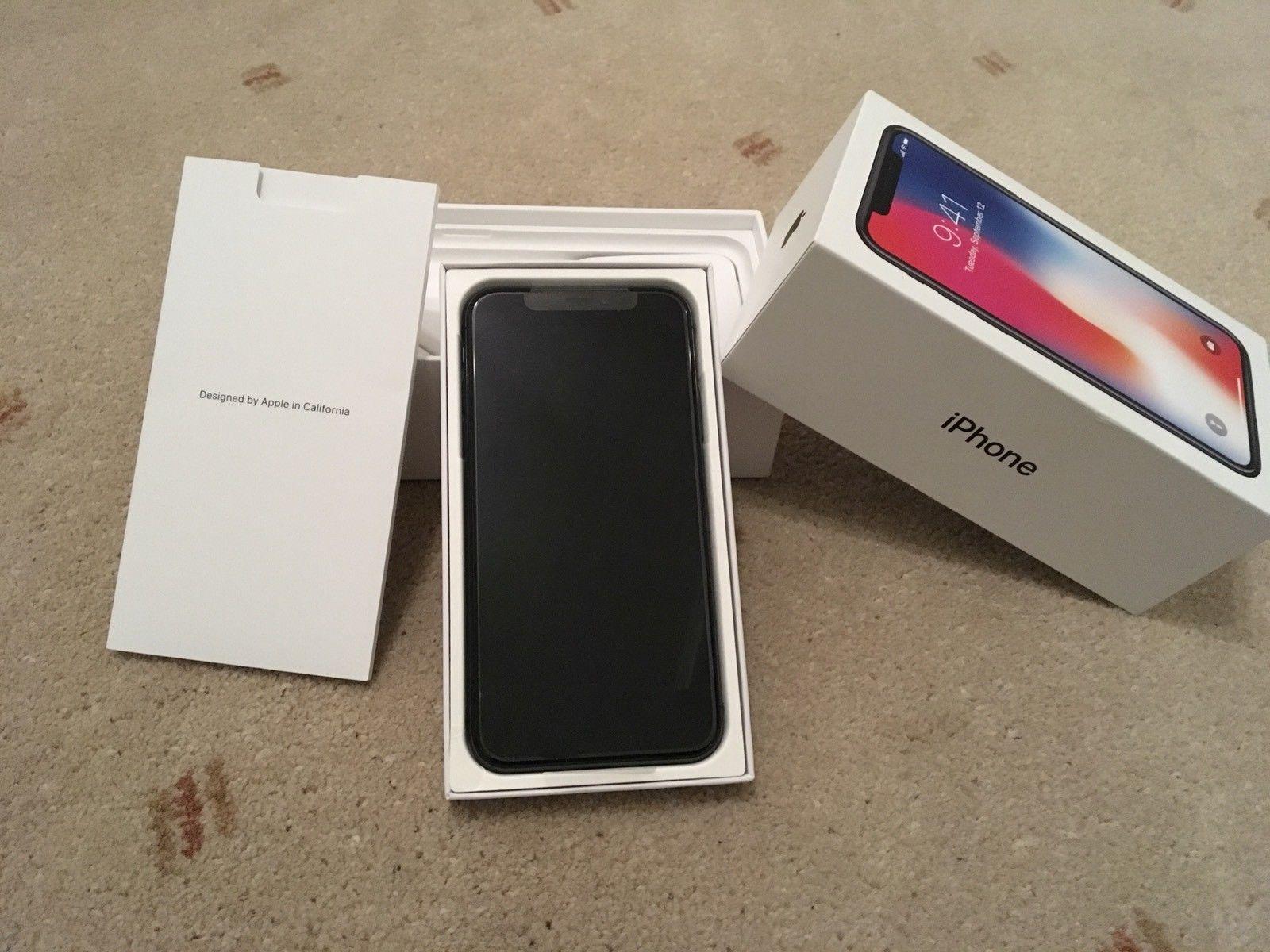 Продам Apple iPhone X 64gb €418 iPhone X 256gb €475 iPhone 8 Plus