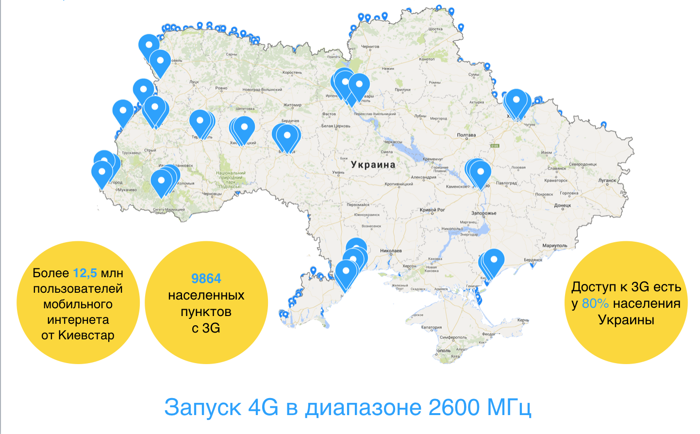 3G Kyivstar: coverage, tariffs, conditions from the largest Ukrainian operator