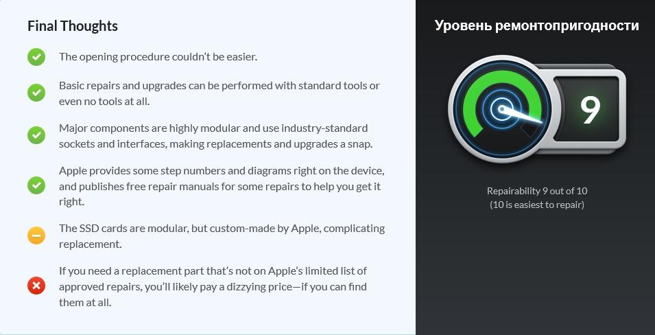 В iFixit назвали самое ремонтопригодное устройство Apple — это новый ПК Mac Pro