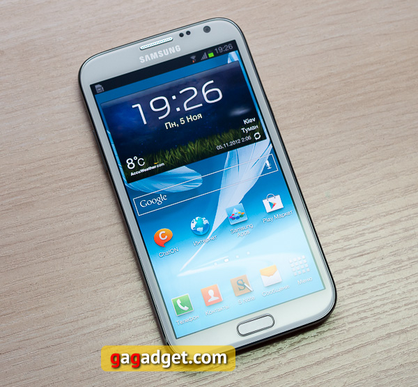 Обзор Android-смартфона Samsung Galaxy Note II (GT-N7100)