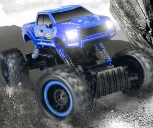 DOUBLE E RC Car Monster Truck, 1:12 Scale