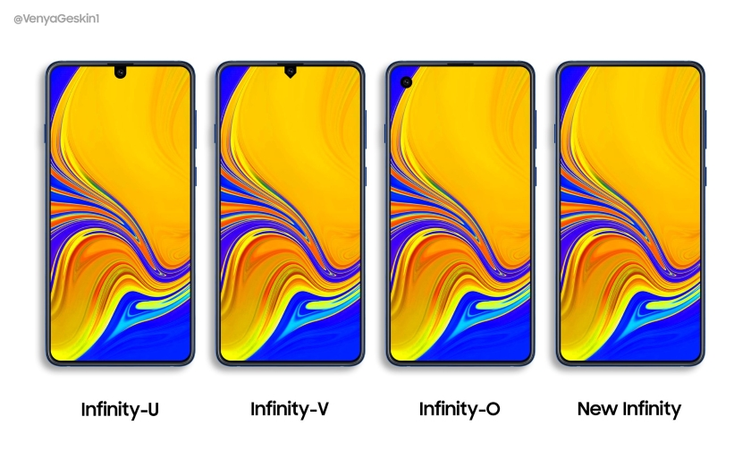 Samsung Galaxy A70 и Galaxy A90 первые смартфоны c новыми Infinity-дисплеями