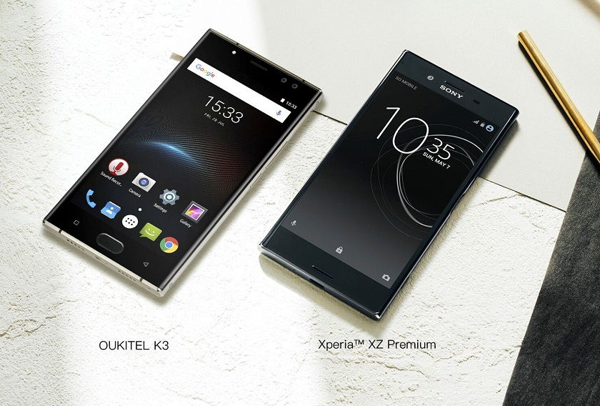 8ff8b8d79c27f OUKITEL K3: близнец Sony Xperia XZ Premium с батареей на 6000 мАч ...